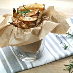 The ultimate accompaniment, rosemary infused 'carbless' french fries