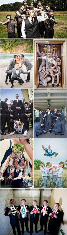 20 Hilarious and Creative Groomsmen Photo Ideas!