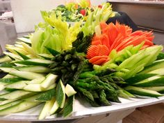 Fresh Vegetable Display   Classic Catering Kansas City