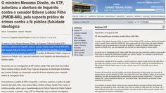 EDGAR RIBEIRO: BOMBA!BOMBA! A PF JÁ VEM INVESTIGANDO LOBÃO FILHO ...
