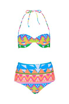 06bc6e7ab35ad 12 Under- 100 Swimsuits to Buy for Summer s Last Hurrah. Aztec Bikini ...