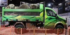Meet the Off-Roading Mercedes Sprinter Dump Truck of Your Dreams   Go anywhere. Dump anything.  Every once in a while something comes along that you've just got to have. The Mercedes-Benz Sprinter Extreme conceptbuilt in collaboration with tuning company RennTechis one of those things.  Yes it's an off-roading Sprinter dump truck painted bright green. This daydream concept can tow 7500 lbs and haul 5200 lbs in the dump bed. See? It's a practical show truck.  Under this radical concept's hood…