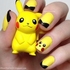 Pokémon GO Inspired Nails !!!