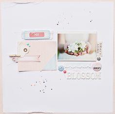 magda mizera: May Blossom - layout