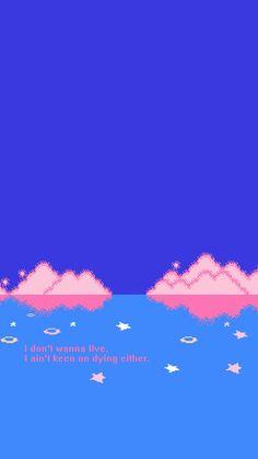 Pastel Wallpaper, Tumblr Wallpaper, Screen Wallpaper, Black Wallpaper, Phone Backgrounds, Wallpaper Backgrounds, Iphone Wallpaper, Blue Aesthetic, Quote Aesthetic