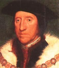 Thomas Howard had steered his pretty niece - Catherine - in Henry's direction to increase royal irritation with Thomas Cromwell for marrying him to the plain Anne. The forty-nine-year-old Henry fell for the nineteen (going-on-twenty) Catherine like a stone and married her on 28 July 1540. [Henry's tame bishops had declared his marriage to Anne of Cleve void, 7 July 1540.]