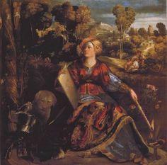 Tableaux sur toile, reproduction de Dossi, Circe