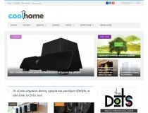 Σχεδιασμός & κατασκευή ενημερωτικού portal (blog) σε wordpress για το Coolhome στην Αθήνα. Mobile friendly site με προώθηση SEO και διασύνδεση Social σελίδων.