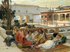 The Harem by Frederick Arthur Bridgman