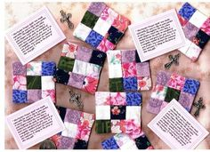 pocket prayer quilts
