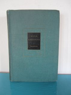 Title: Anna Karenina Author: Count Leo Tolstoy Translated By: Constance Garnett  Publisher: Modern Library  Copyright: 1951 Binding: Hardcover  Page Count: 950