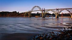 Yaquina Bay Bridge - Newport, Oregon