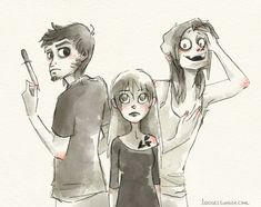 Tobias, Tris, and Eric from divergent.....I can't get over there eyes!