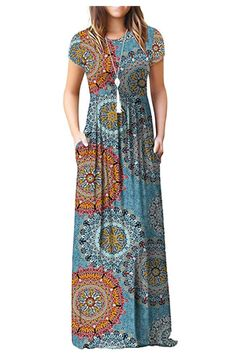 s Summer Casual Floral Sleeveless Loose Plain Long Maxi Dress Pockets ?s Summer Casual Floral Sleeveless Loose Plain Long Maxi Dress Pockets from the popular stores - all in one. Halter Maxi Dresses, Floral Maxi Dress, Boho Dress, Sexy Dance, Style Blogger, Cheap Summer Dresses, Boutique Fashion, Outfits Damen, Retro Dress