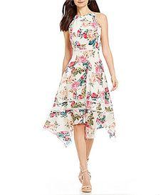 a2ac37cbf2cc Antonio Melani Jayden Printed Silk Dress #Dillards Sunday Dress, Chic  Wedding, Wedding Attire