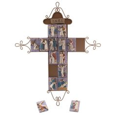 Magnetic wall cross with removable tiles for the 14 stations. While not designed as a toy, this cross can be used in small faith groups, schools, and at home for spiritual growth and knowledge.
