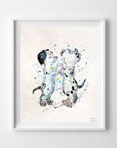 101 Dalmatians Print