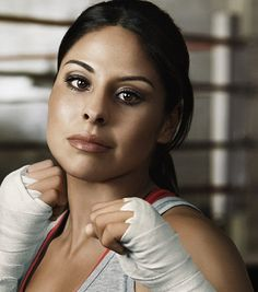 Marlen Esparza - Boxer who became the first American woman to qualify for the Olympics in the first year that women's boxing became an Olympic event.