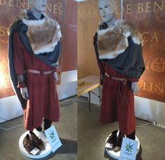 Hombre civil del Pre-Románico asturiano. Años 711-910.  Credit: La Guardia Recreación Histórica @laguardiarecreacionista