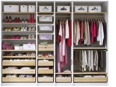 Ikea Pax Wardrobe Could Be A Regular Walled Wardrobe Or Part Of Walk In Closet