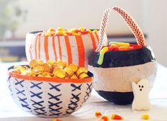 How-Tuesday: Paper Maché Candy Bowls on Etsy