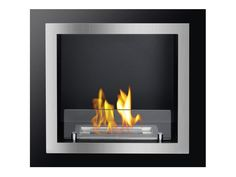 Antalia Recessed Ventless Ethanol Fireplace - UL/CUL