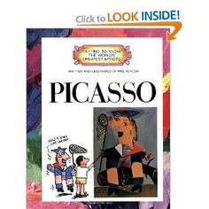 Picasso (Getting to Know the World's Greatest Artists): Mike Venezia: 9780516422718: Amazon.com: Books.  GRACE Art schools may borrow this along with their portfolio.