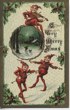 Christmas elves.