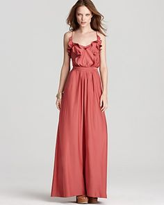 Love the color of this Rebecca Taylor Gown
