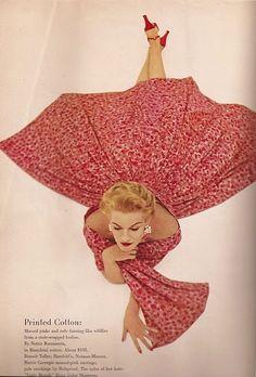 Sunny Harnett In Floral Print