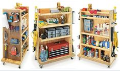 Great for a garage shop without a lot of room.