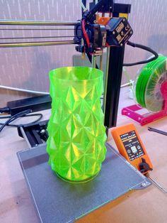 Kryptonite vase printed on Original Prusa MINI by Big Nick Dimelow