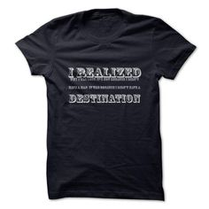 I realized why I was lost T Shirts, Hoodies. Get it here ==► https://www.sunfrog.com/LifeStyle/I-realized-why-I-was-lost.html?41382