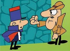 Inspector Clouseau from THe Pink Panther Show Comics Und Cartoons, Old School Cartoons, Famous Cartoons, Animated Cartoons, Funny Cartoons, Classic Cartoon Characters, Cartoon Books, Classic Cartoons, Cartoon Wallpaper