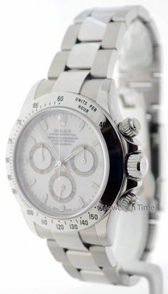 Rolex Mens Daytona Chronograph Stainless Steel  16520