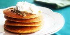 Panqueca americana de milho | sem glúten | DigaMaria.com