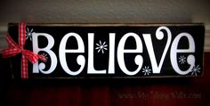 """My Talking Walls - is selling these """"Believe Blocks"""" for to raise $ for young single mom with Stage 4 Ovarian Cancer."""