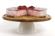 No-Bake Strawberry Cheesecake – A Gourmet Food Blog