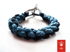 nautical bracelet hand made in Poland, 100% cotton and stainless steel: https://www.facebook.com/theadventurebegins