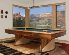 Ovoid Pool Table