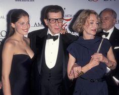 1999 - Laetitia Casta YSL Loulou de La Falaise & Pierre Bergé at the AMFAR soirée