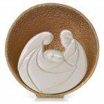 Presepe Perla Gold 14,5 cm argilla refrattaria