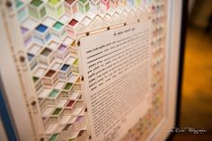 The ketubah was beautiful and detailed with color. Wolfgang Puck Catering supplied the easel for the wedding at Union Station. It was boldly displayed as it should be. It is a document meant to be forever, so it carries the beauty and dignity it deserves.