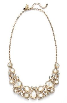 kate spade new york 'butter up' bib necklace | Nordstrom