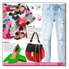 """""""SheIn 4/10"""" by fashion-pol ❤ liked on Polyvore featuring MANGO and Giuseppe Zanotti"""