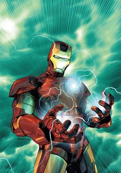 Iron Man by Brandon Peterson. Loved meeting this artist and picking up this print, good times!
