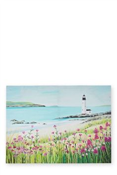 Janet Bell Lighthouse Canvas