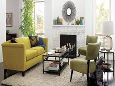 Awesome Small Living Room Ideas Fresh Awesome Small White Living Room Interior Design Ideas with Yellow Leather sofa Furniture Yellow Living Room Interior, Home Decor Bedroom, Interior Design Living Room, Living Room Designs, Lights Bedroom, Bedroom Walls, Living Room Chairs, Living Room Furniture, Living Room Decor