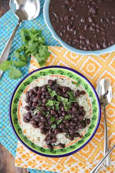 Brazilian Style Black Beans and Rice