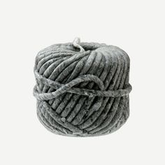 Bougies La Francaise  WOOLBALL CANDLE GREY SMALL